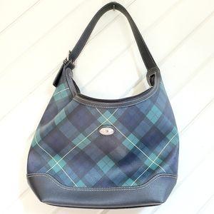 Tommy Hilfiger Tartan Plaid Handbag Easy Clean